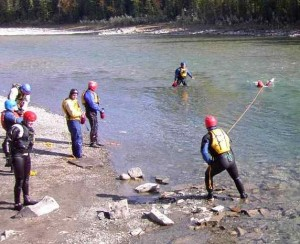 Swift Water Rescue, Throw Line, Rocky Mountain Adventure Medicine