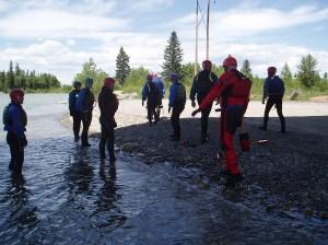 Swift Water Safety - River Talk, Safety Talk, Rocky Mountain Adventure Medicine