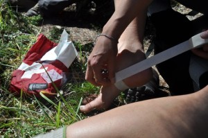 First Aid, Blister Care, Wilderness First Aid, Rocky Mountain Adventure Medicine
