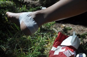Blister care, Mepital, Rocky Mountain Adventure Medicine, Wilderness First Aid